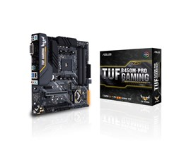 ASUS TUF B450M-PRO GAMING AMD Socket AM4 B450 Chipset MicroATX Motherboard *Open Box*