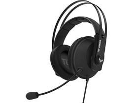ASUS TUF Gaming H7 7.1 Gaming Headset in Stainless-Steel Gun Metal