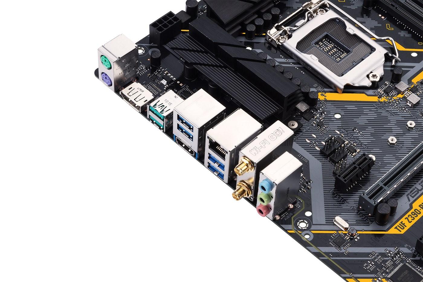 ASUS TUF Z390-PLUS GAMING (WI-FI) ATX Motherboard for Intel LGA1151