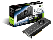 ASUS GeForce GTX 1080 Ti Turbo 11GB Graphics Card