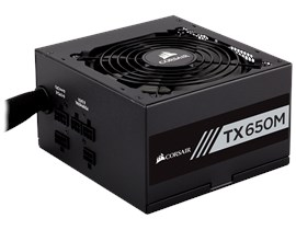 Corsair TX650M 650W Semi-Modular 80+ Gold PSU