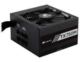 Corsair TX750M 750W Semi-Modular 80+ Gold PSU