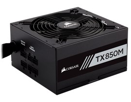 Corsair TX850M 850W Semi-Modular 80+ Gold PSU
