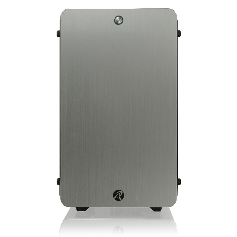 Raijintek Thetis Mid Tower Gaming Case - Silver USB 3 0