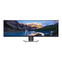 Dell UltraSharp U4919DW 49 inch IPS Curved Monitor - 5120 x 1440
