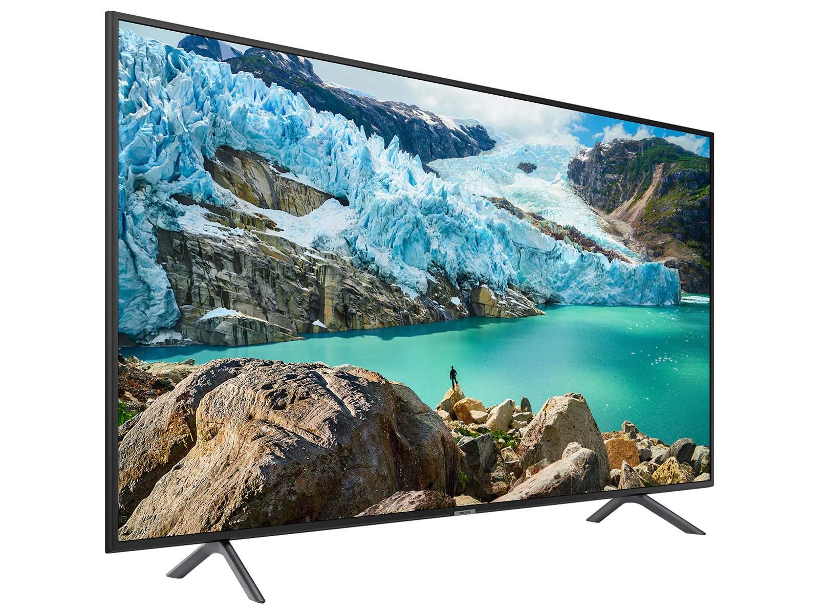 Samsung RU7100 (50 inch) HDR 4K UHD Smart LED Television (Black)