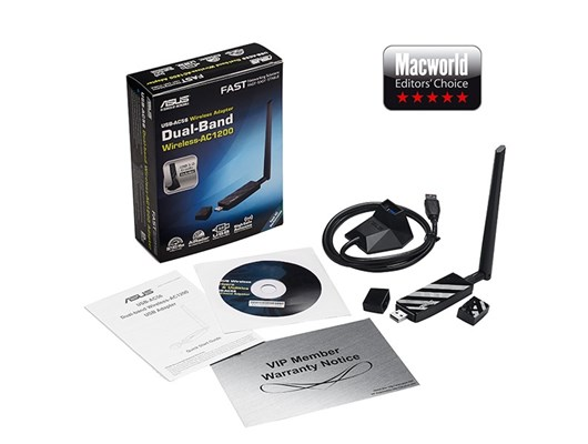ASUS USB-AC56 867Mbps USB 3.0 WiFi Adapter