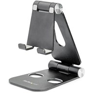 StarTech.com Foldable Universal Mobile Device Holder for Smartphones and Tablets
