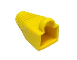 CCL Choice Yellow RJ45 Snagless Boot B/Q 4000