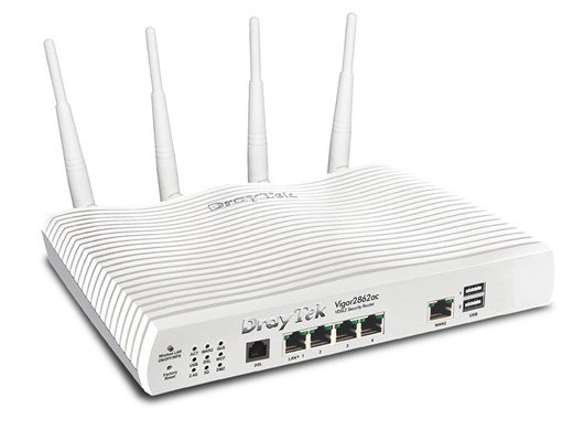 Draytek Vigor 2862 Series 5-port Wireless Router