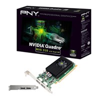 PNY Quadro NVS 310 1GB Professional Graphics Card