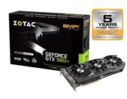 Zotac NVIDIA GeForce GTX 980 Ti AMP! 6GB Card