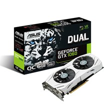 ASUS GeForce GTX 1060 Dual 6GB Graphics Card