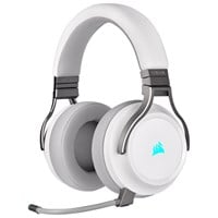 Corsair Virtuoso RGB Wireless High-Fidelity Gaming Headset - White