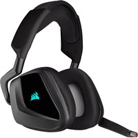 Corsair Void RGB Elite Wireless Premium Gaming Headset with 7.1 Surround Sound (Carbon)
