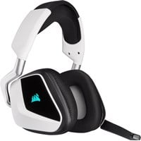 Corsair Void RGB Elite Wireless Premium Gaming Headset with 7.1 Surround Sound (White)