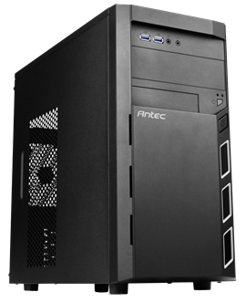 Antec VSK 3000 Elite Mid Tower Case - Black