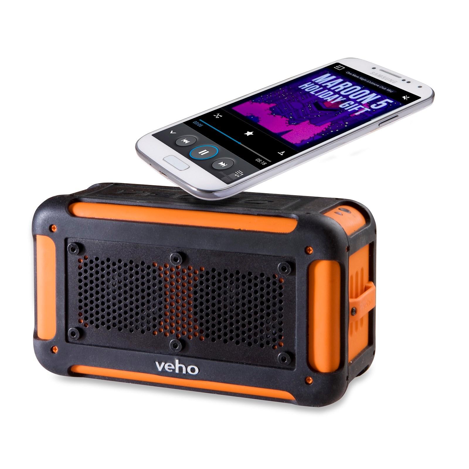 veho 360 bluetooth speaker manual