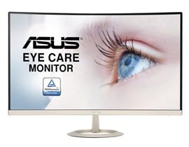 "ASUS VZ27VQ 27"" Full HD LED Curved Monitor"
