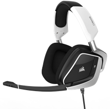 Corsair Void Pro Dolby 7.1 RGB USB Premium Gaming Headset (White)