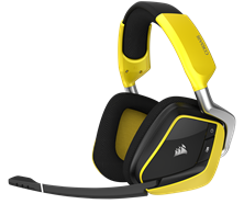 Corsair Void Pro Dolby 7.1 RGB Wireless Gaming Headset Special Edition (Yellow)