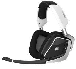 Corsair Void Pro Dolby 7.1 RGB Wireless Gaming Headset (White)