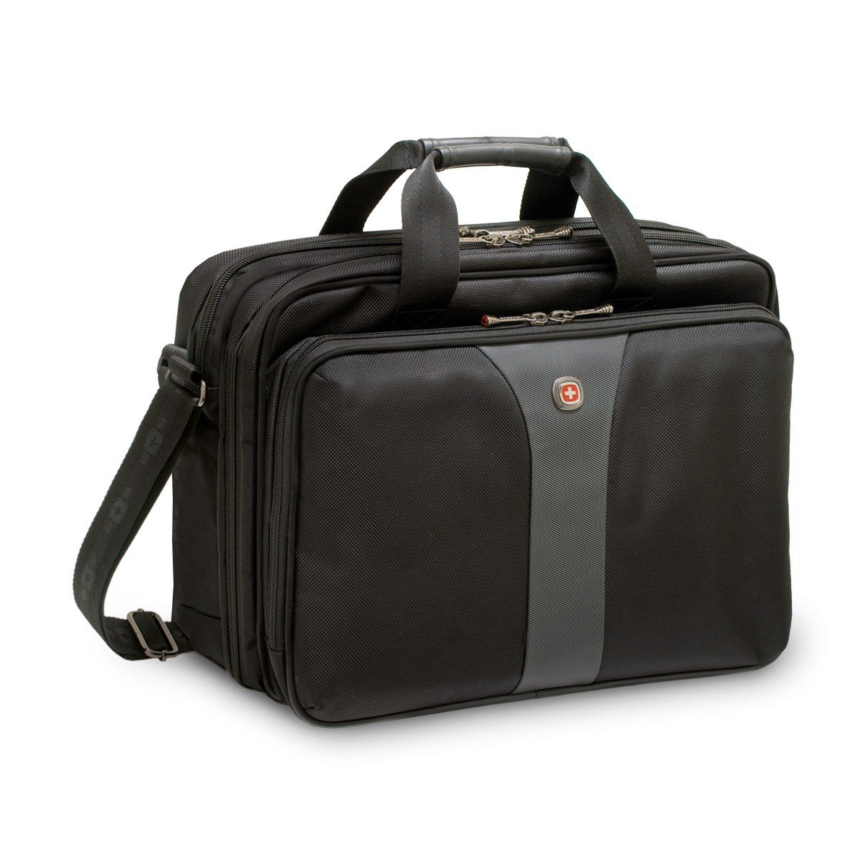 e883701ba Wenger SwissGear Legacy Double Case (Black) up to 16 inch Laptops -  WA-7652-14