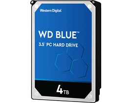 "Western Digital Blue 4TB SATA III 3.5"" HDD"