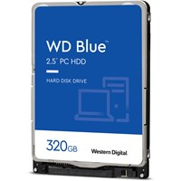 Western Digital Blue 320GB SATA III 2.5 Hard Drive - 5400RPM, 16MB