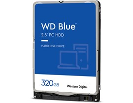 "Western Digital Blue 320GB SATA III 2.5"" HDD"