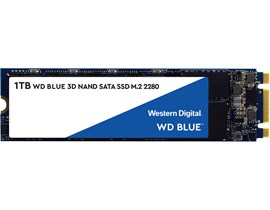 WD Blue (1TB) 3D NAND SATA M.2 Solid State Drive *Open Box*