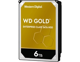 "Western Digital Gold 6TB SATA III 3.5"" HDD"