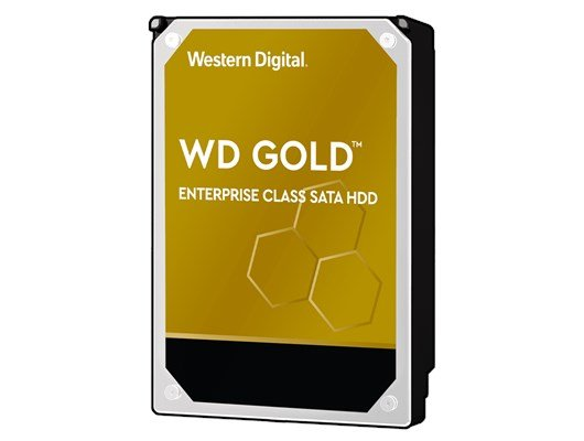 "Western Digital Gold 4TB SATA III 3.5"" HDD"