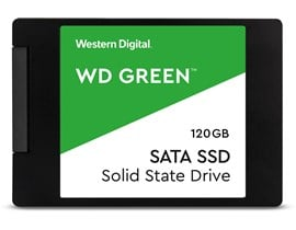 "Western Digital Green 120GB 2.5"" SATA III SSD"