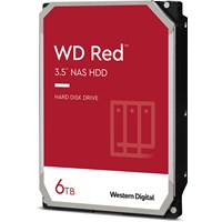 Western Digital Red 6TB SATA III 3.5 Hard Drive - 5400RPM, 256MB