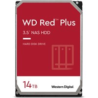 Western Digital Red Plus 14TB SATA III 3.5 Hard Drive - 5400RPM