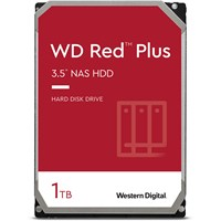 Western Digital Red Plus 1TB SATA III 3.5 Hard Drive - 5400RPM