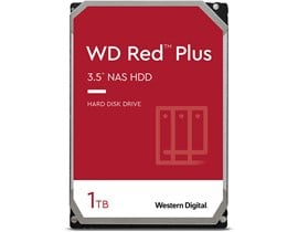 "Western Digital Red Plus 1TB SATA III 3.5"" HDD"
