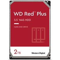 Western Digital Red Plus 2TB SATA III 3.5 Hard Drive - 5400RPM