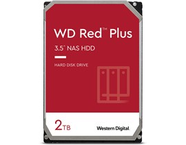 "Western Digital Red Plus 2TB SATA III 3.5"" HDD"