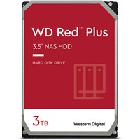 Western Digital Red Plus 3TB SATA III 3.5 Hard Drive - 5400RPM