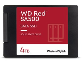 "Western Digital Red SA500 4TB 2.5"" SATA III SSD"