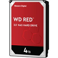 Western Digital Red 4TB SATA III 3.5 Hard Drive - 5400RPM, 256MB