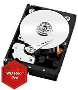 WD Red Pro (4TB) SATA 6Gb/s 128MB Cache 3.5 inch NAS Desktop Hard Drive (Internal)