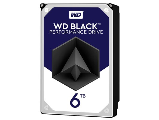 WD Black (6TB) 7200rpm SATA Internal Hard Drive *Open Box*