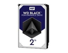 Western Digital Black Desktop 2TB SATA III 3.5""