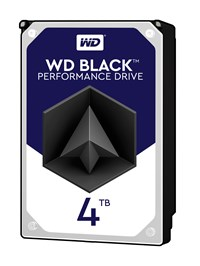 Western Digital Black 4TB SATA III 3.5 Hard Drive - 7200RPM, 256MB