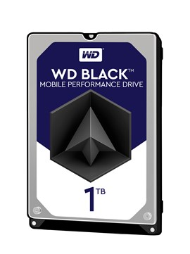 Western Digital Black Mobile 1TB SATA III 2.5""