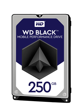 Western Digital Black Mobile 250GB SATA III 2.5""