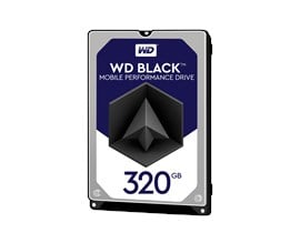 Western Digital Black Mobile 320GB SATA III 2.5""
